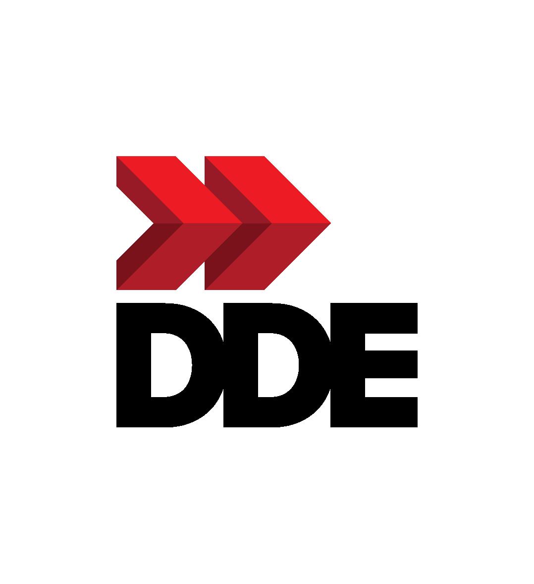 D.D.E Logo